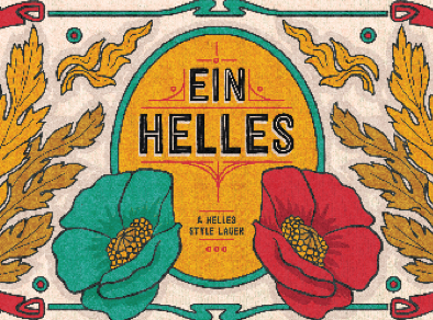 Counter Weight Ein Helles beer Label Full Size