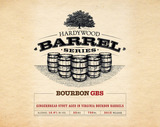 Hardywood Park Bourbon Gingerbread Stout Beer