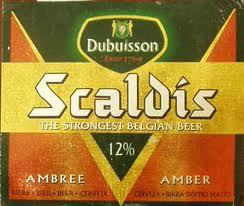 Scaldis Amber beer Label Full Size