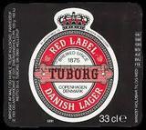 Tuborg Rød beer
