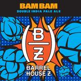 Barrel House Z BAM BAM DIPA beer