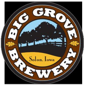 Big Grove Easy Eddy beer Label Full Size