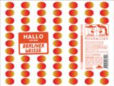 Mikkeller Hallo Ich Bin Berliner Weisse Blood Orange Beer
