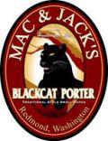 Mac and Jacks Blackcat Porter beer
