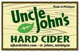 Uncle John's Apple Tepache beer