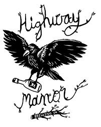 Highway Manor Mr. Blackberry beer Label Full Size