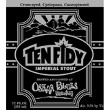 Oskar Blues Ten Fidy beer