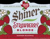Shiner Bock Strawberry Lager beer