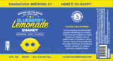 Saugatuck Blueberry Lemonade Shandy Nitro beer