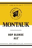Montauk Golden Ale beer