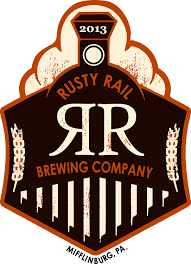 Rusty Rail Side Mint Chocolate Stout Nitro beer Label Full Size