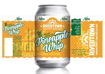 Rivertown Pineapple Whip beer Label Full Size
