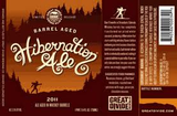 Great Divide Barrel Aged Hibernation Ale Beer