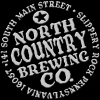 North Country Cranberry Sour beer Label Full Size
