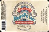 Monopolio Lager Negra beer