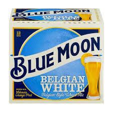 Blue Moon Belgain White beer Label Full Size