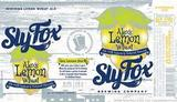 Sly Fox Alex's Lemon Wheat Beer