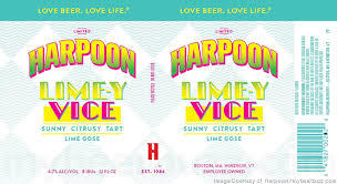 Harpoon Lime-y Vice Beer