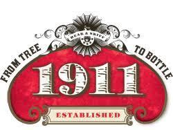 1911 Tropical Hard Cider beer Label Full Size