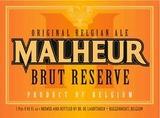 Malheur Brut Reserve beer