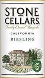 Stone Cellar Riesling wine