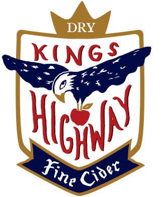 Kings Highway Arnie's Orchard beer Label Full Size