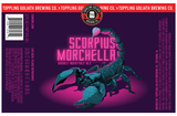 Toppling Goliath Scorpius Morchella beer