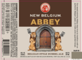 New Belgium Belgian Abbey Dubbel beer