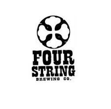 Four String Confluence beer Label Full Size
