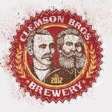 Clemson Brothers Sunkissed Mango Pilsner beer Label Full Size