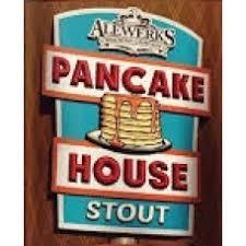 Alewerks Pancake House Stout beer Label Full Size