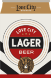 Love City Lager beer