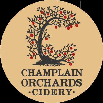 Champlain Orchard Honey Crisp beer Label Full Size