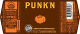 Uinta Punk'n Harvest Pumpkin Ale Beer