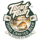 Roscoe Trout Town Capital Letters beer
