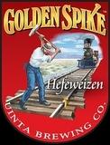 Uinta Golden Spike Hefe-Weisse beer