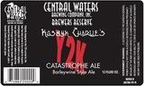 Central Waters Kosmyk Charlie's Y2K Catastrophe Ale Beer