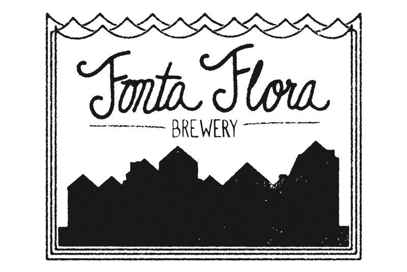 Fonta Flora Ticky Ticky beer Label Full Size