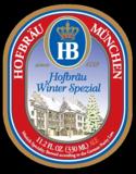 Hofbrau Winter Spezial beer