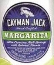 Cayman Jack Margarita beer Label Full Size