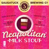 Saugatuck Neapolitan Milk Stout Nitro beer