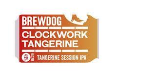 BrewDog Clockwork Tangerine beer Label Full Size
