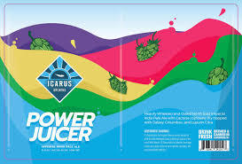 Icarus Power Juicer beer Label Full Size