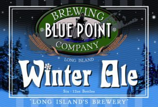 Blue Point Winter Ale beer Label Full Size