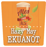 Moeller Brew Barn - Hazy May Ekuanot beer