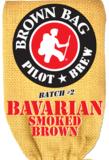 Long Trail Brown Bag Bavarian Smoked Brown beer