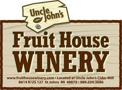 Uncle John's Cranberry Apple Cider beer Label Full Size