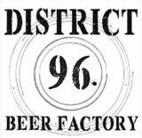 District 96 Cask Very Stable Genuis W/Peach beer