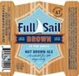 Full Sail Nut Brown Ale Pub Series beer