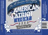 American Patriot Light beer